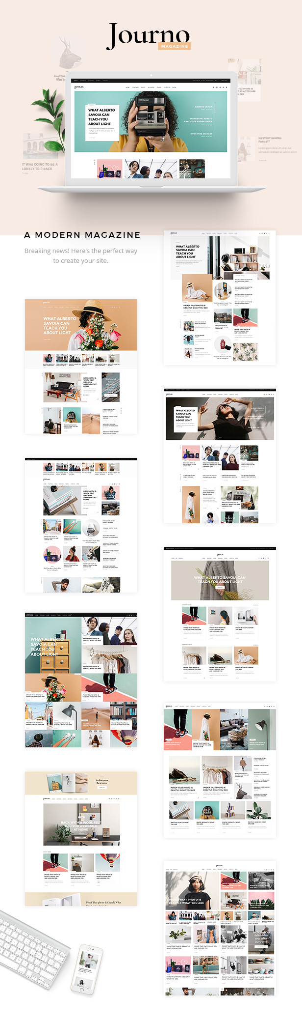 Journo - Creative Magazine & Blog Theme - 1